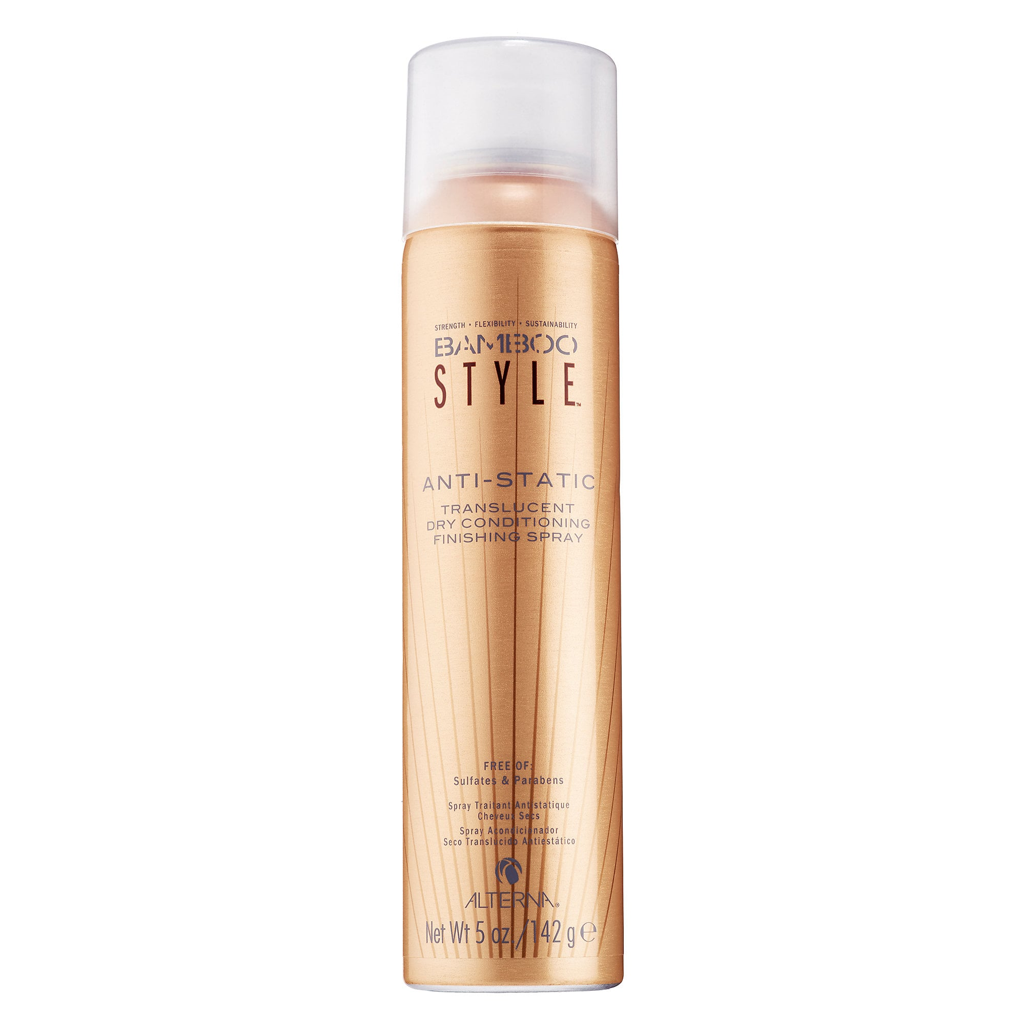 Bamboo Style Anti-Static Translucent Dry Conditioning Finishing Spray
