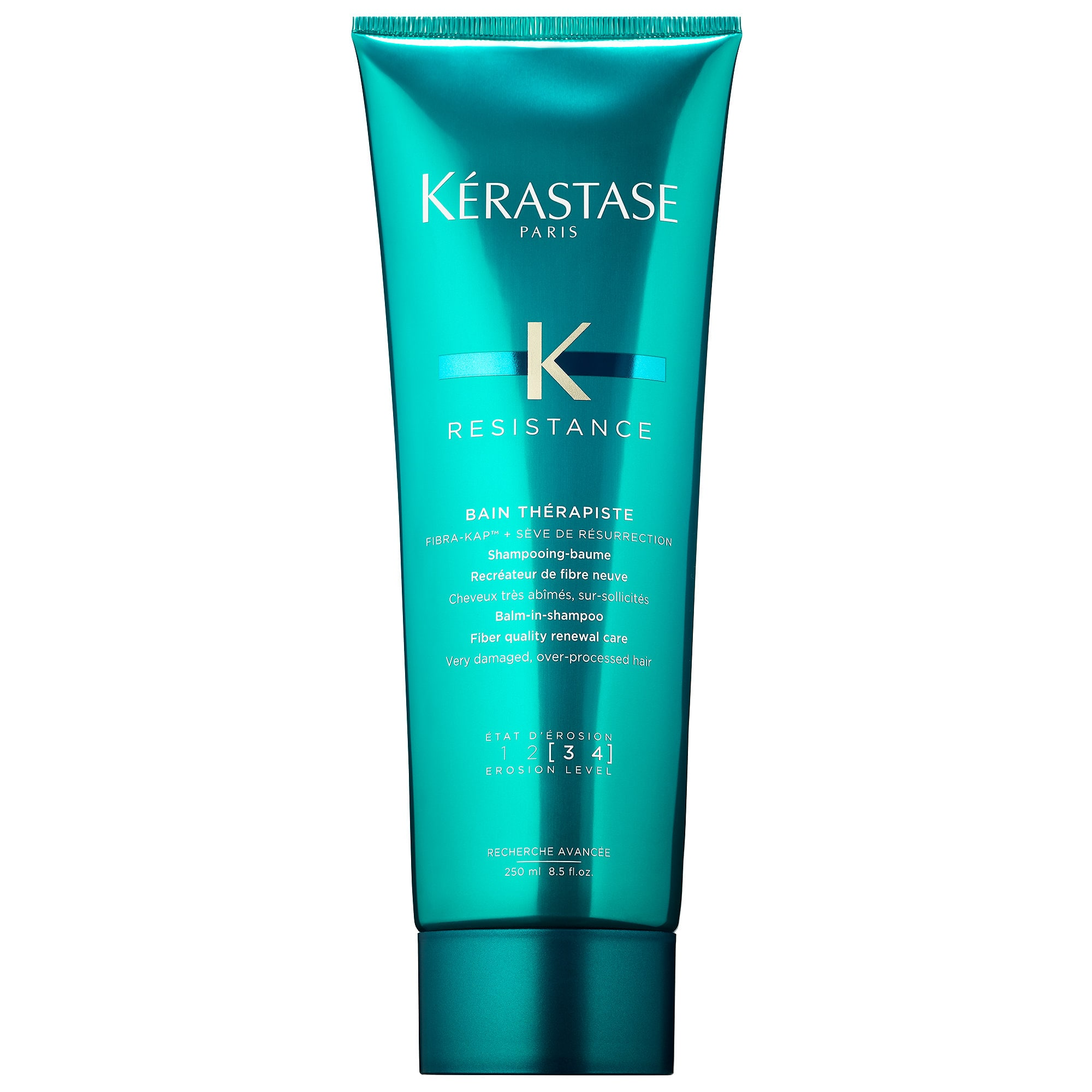Resistance Shampoo for Severely Damaged Hair