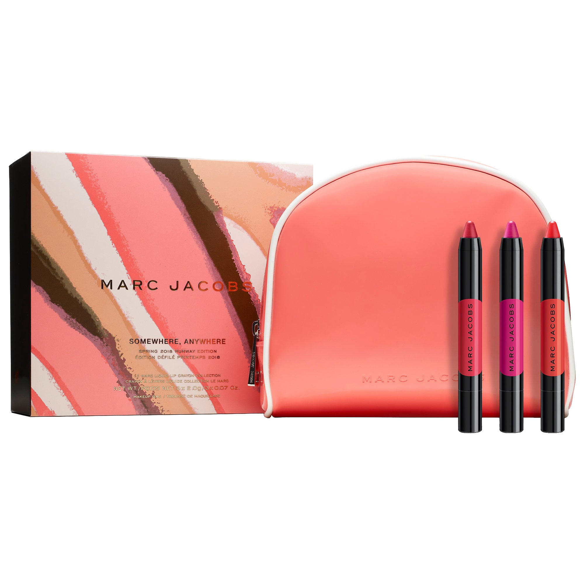 Somewhere, Anywhere - Le Marc Liquid Lip Crayon Collection