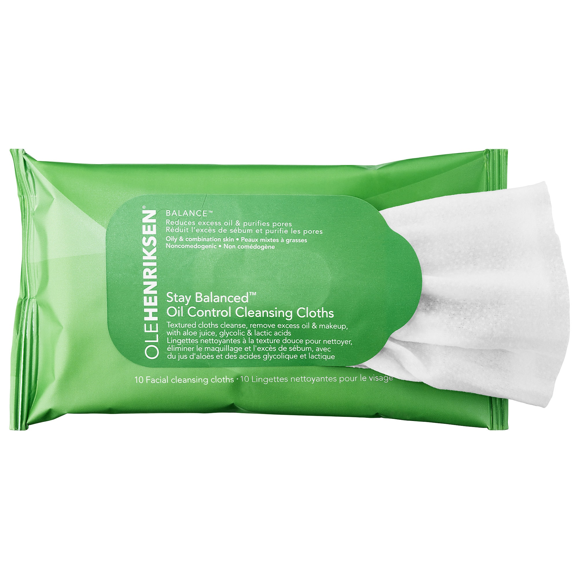 Stay Balanced™ Oil Control Cleansing Cloths