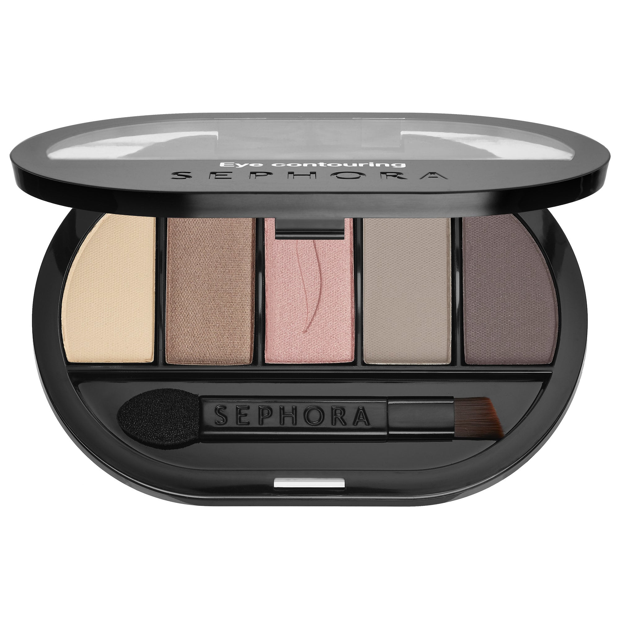 Colorful 5 Eye Contouring Palette